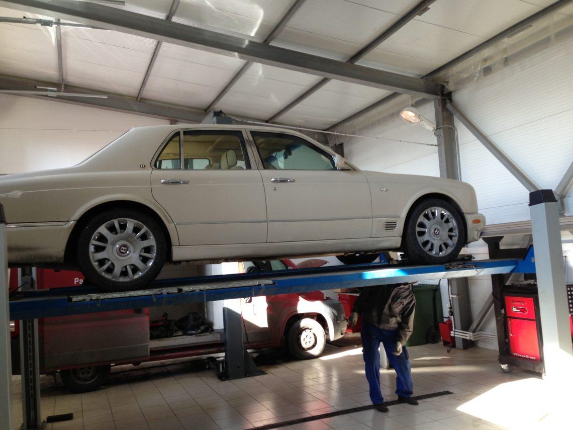 Ремонт подвески Bentley