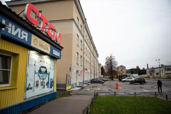 фасад СТО 1